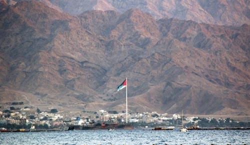 Aqaba . view from Eilat