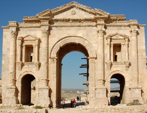Jerash Hadrian