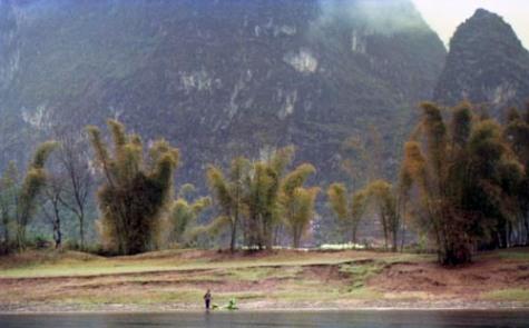 The descent of the Li River