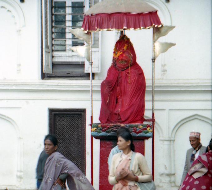 mulheres em Kathmandu