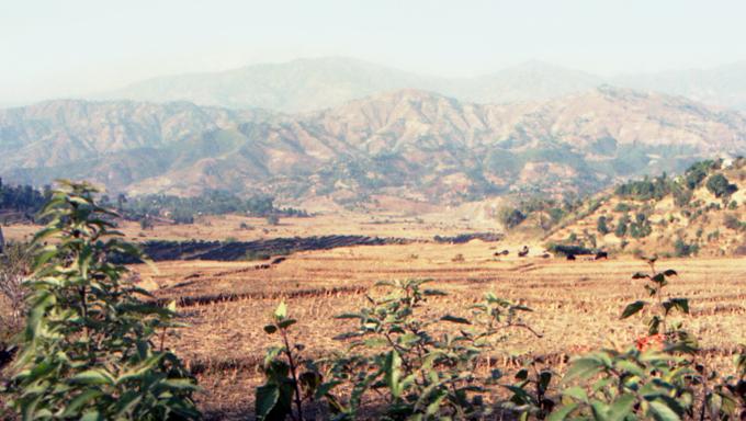 paisagem junto a Chitwan