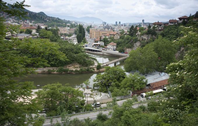 Vista de Sarajevo