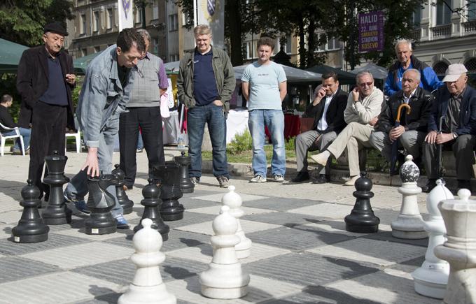 uma pausa para o xadrez