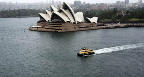 Sydney Cove and Opera House