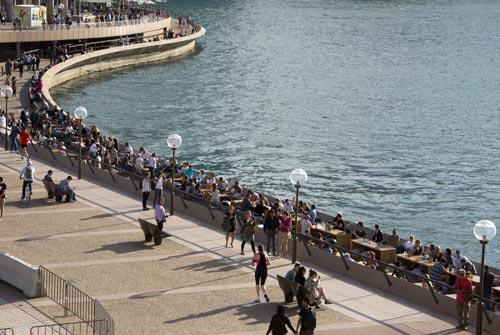 Sydney - pedestrian area