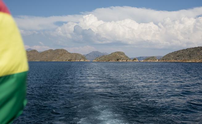 barco para Isla del Sol