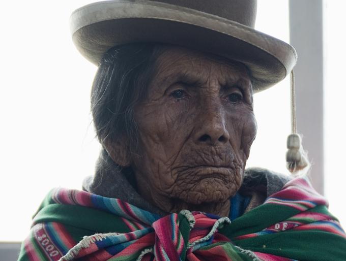 mulher andina