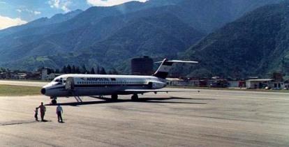 Alberto Carnevalli airport
