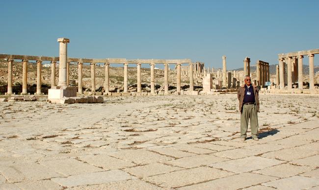 O nosso guia em Jerash