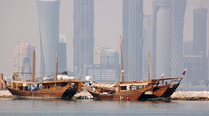 Doha - barcos pesca