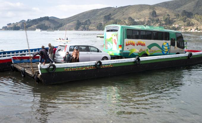 transporte em Tiquina