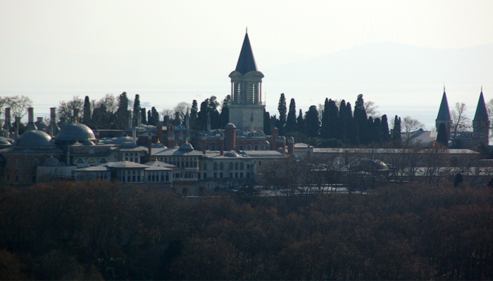 visto do Palácio Topkapı de Gálata