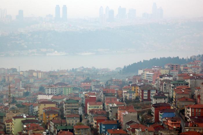 Vista de Istambul a partir da colina de camlica