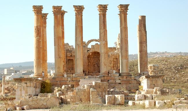 Jerash - templo