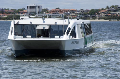 boat to South Perth
