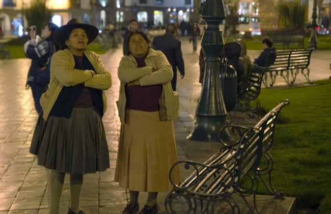 praça no centro de Cusco