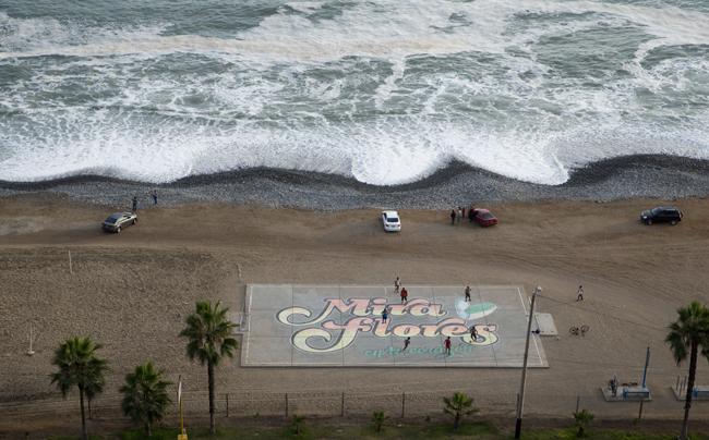 praia em Miraflores