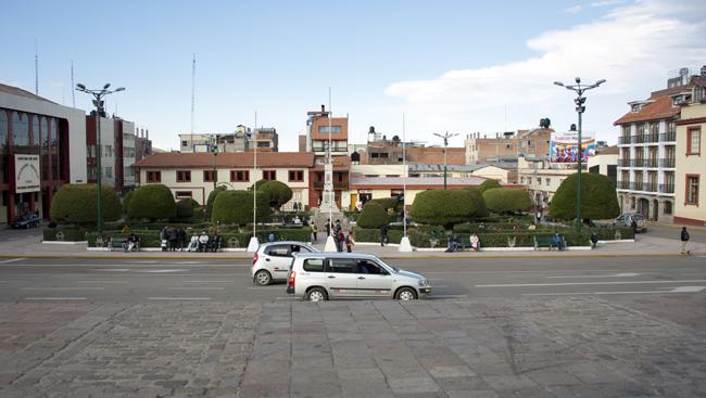 Plaza de Armas de Puno