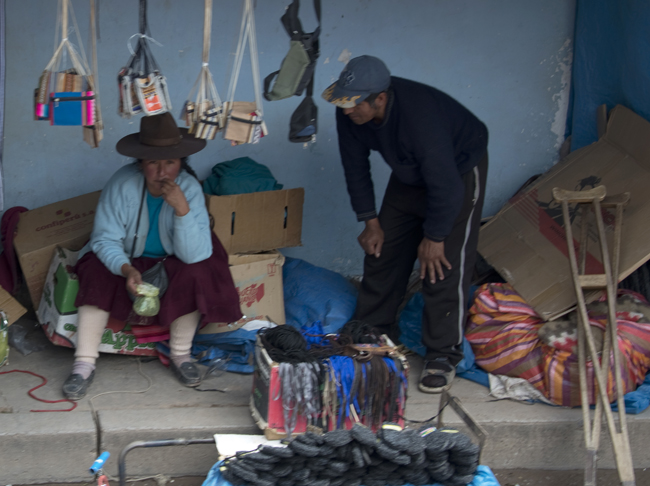 mercado em Juliaca