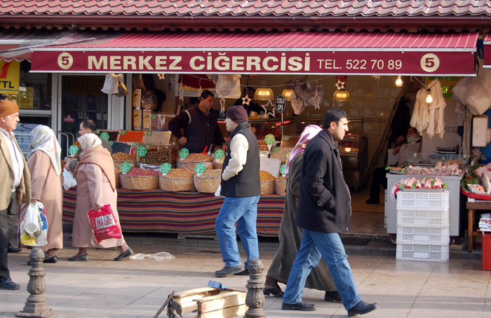 Loja proximo de Taksim