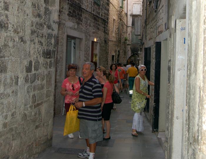 Rua em Split