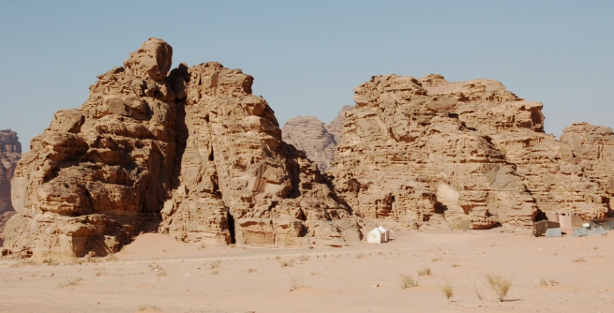 Wadi Rum - acampamento