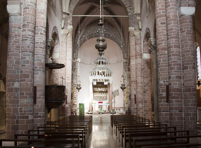 interior da catedral de S. Tryphon