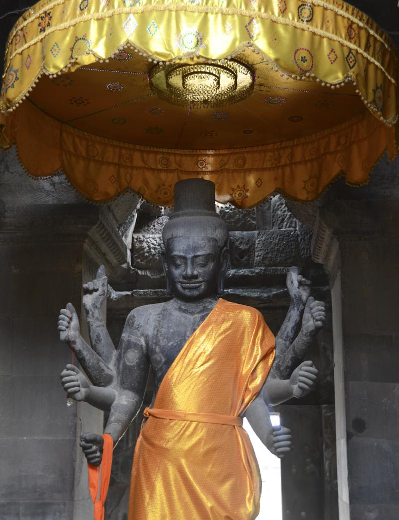 buda em Angkor Wat