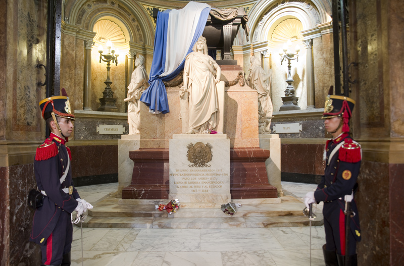 túmulo de José San Martin