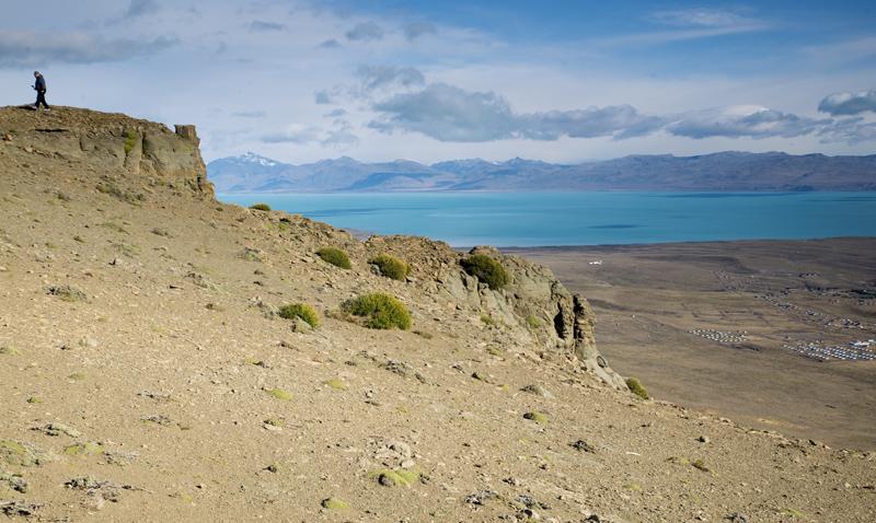 Vista do cerro Huyliche