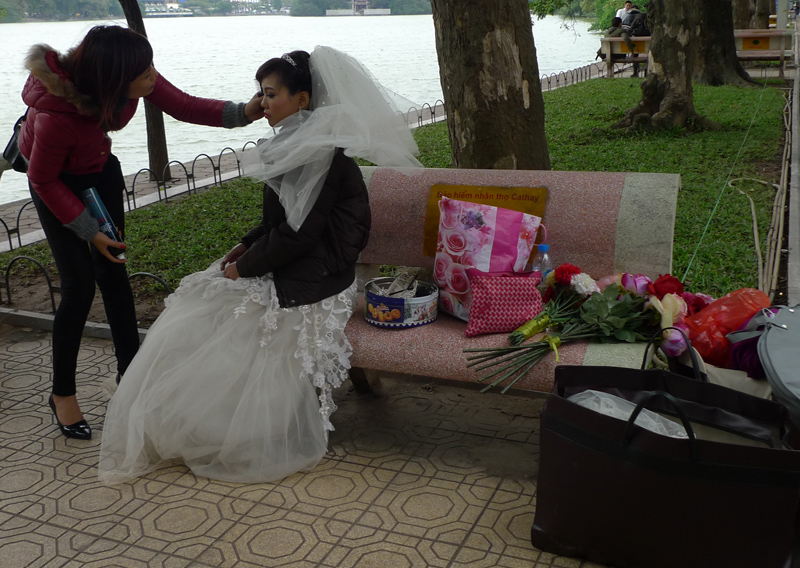 produção de foto de casamento