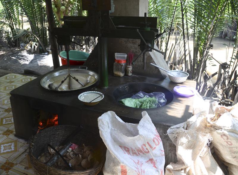 forno para produção de caramelos