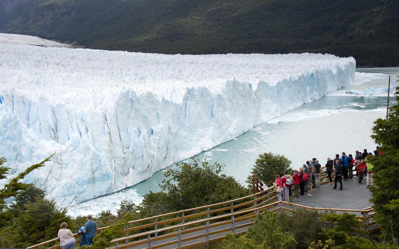 Miradouro no Perito Moreno