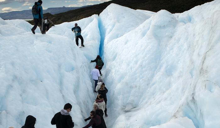Caminhada pelo Perito Moreno