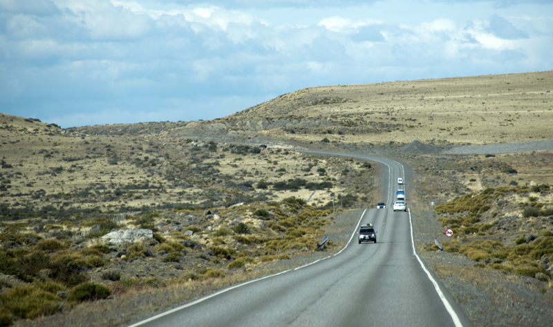caminho para Punta Bandera