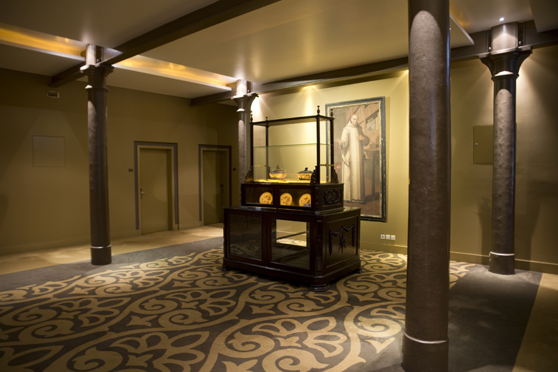 interior do Palácio do Freixo