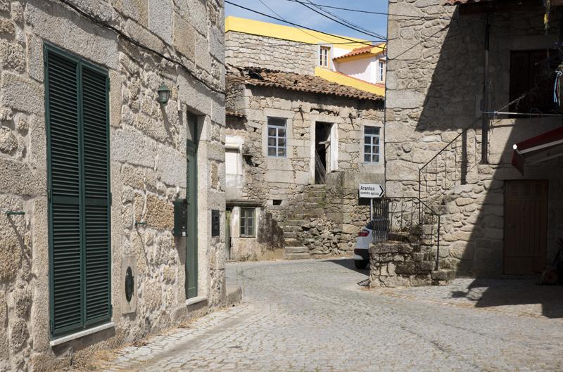 zona antiga da aldeia