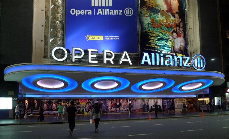 Ópera na Avenida Corrientes