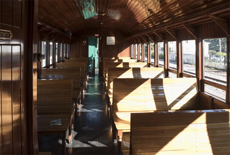 interior da carruagem