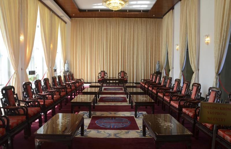 interior do Palácio da Reunificação