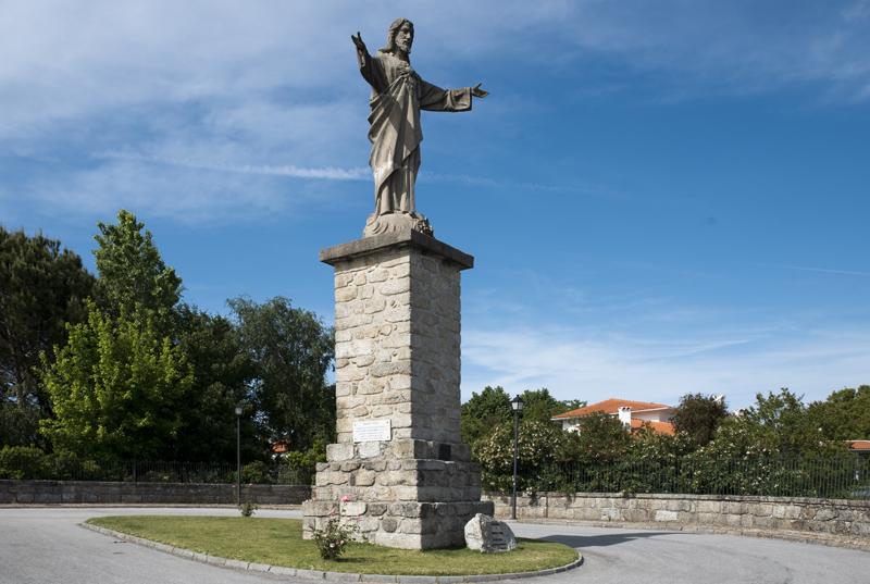Cristo Rei em Cabanas de Viriato
