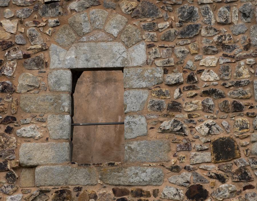 Porta com cruz dos Templários