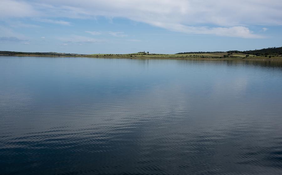 Barragem do Alqueva junto a Amieira