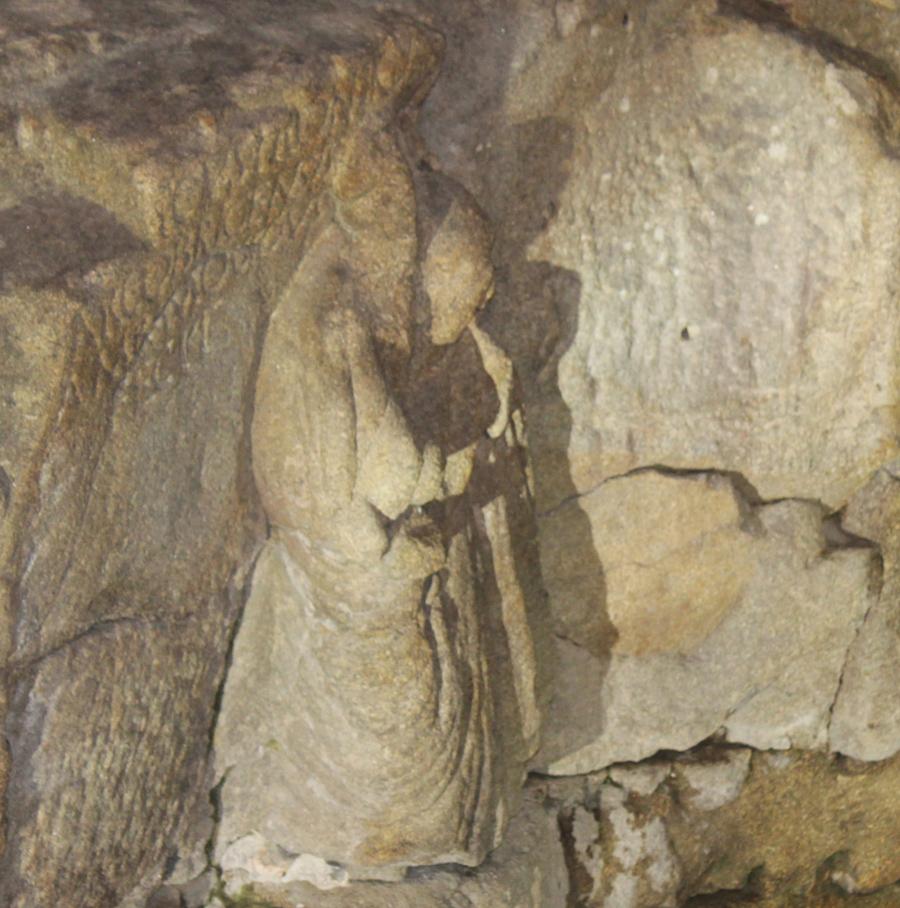 Estátua na Fonte do íldolo