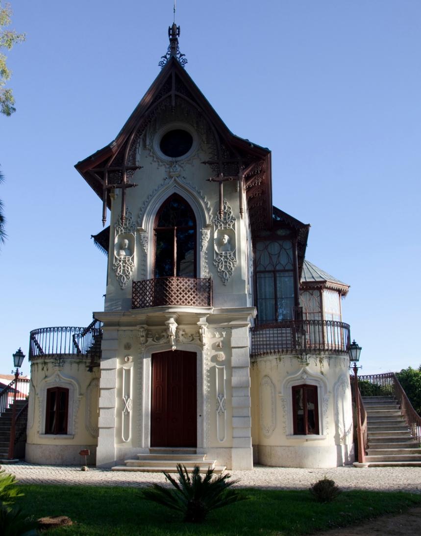 Fachada da Casa Estúdio Carlos Relvas