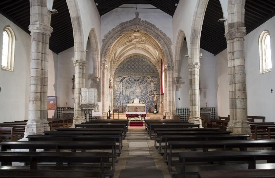 Interior da Igreja da Golegã