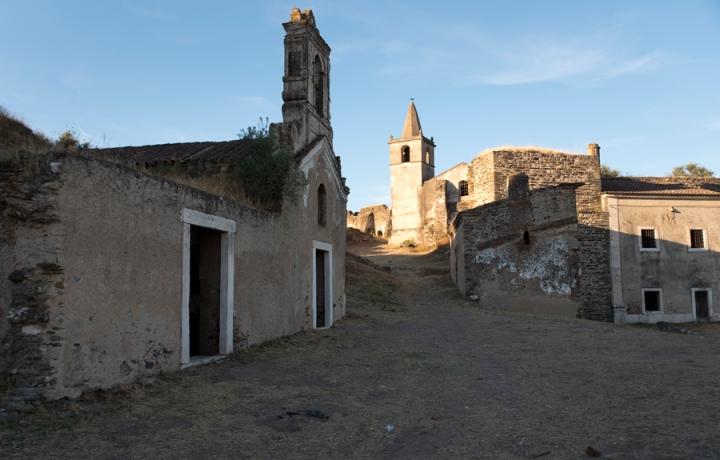 Interior da fortaleza