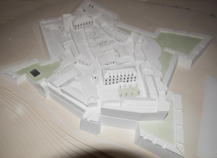 Projecto em exposição no Convento de S. Paulo