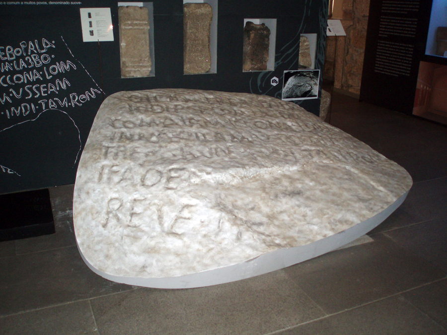 Réplica no Museu da Guarda - Cortesia Museu da Guarda