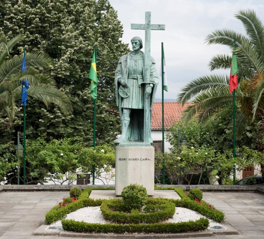Estátua de Pedro Álvares Cabral